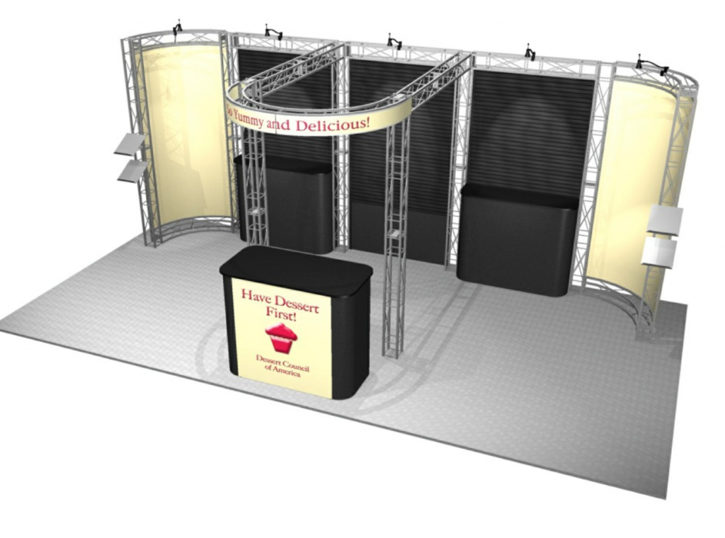 Mandalay Bay 20' Exhibit Rental