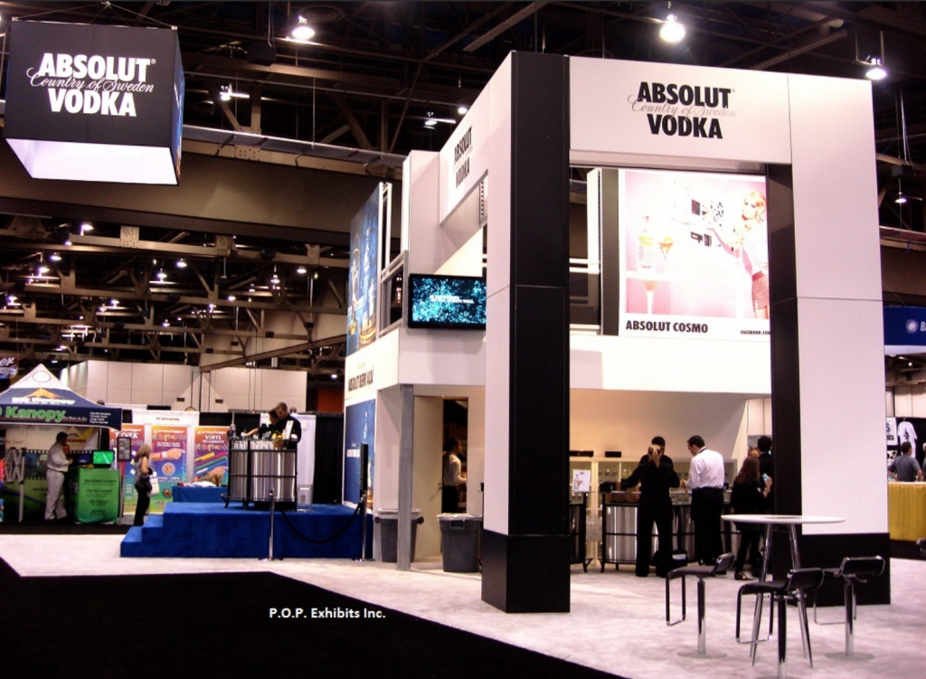 Bar & Night Club Double Deck Exhibit Rental