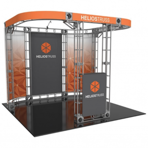 Helios 10x10 truss exhibit