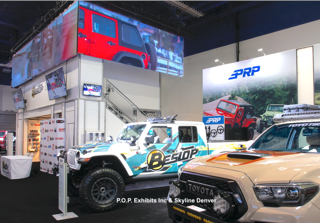 SEMA SHOW - Double Deck Exhibit Rental