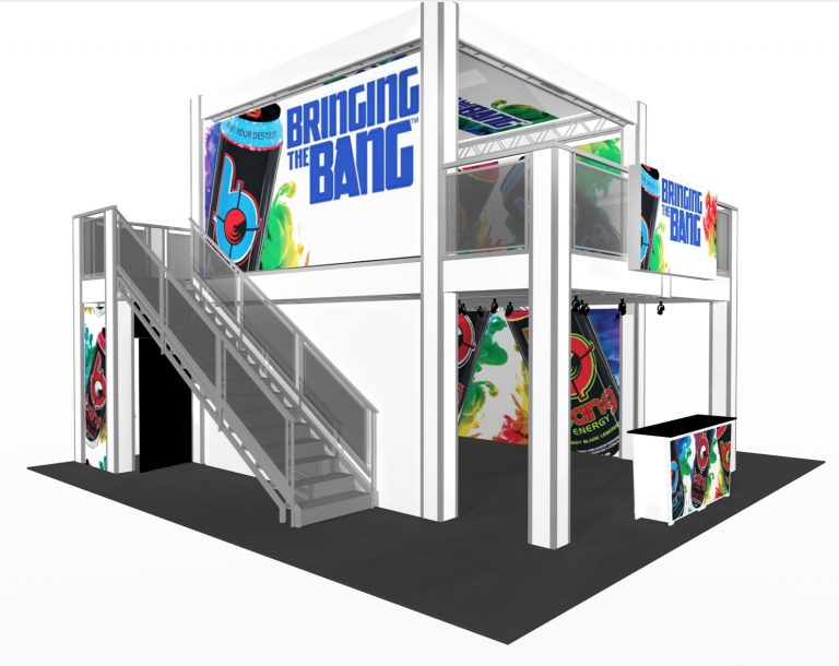 17 x 26 Multi Story Exhibit for Orlando, FL