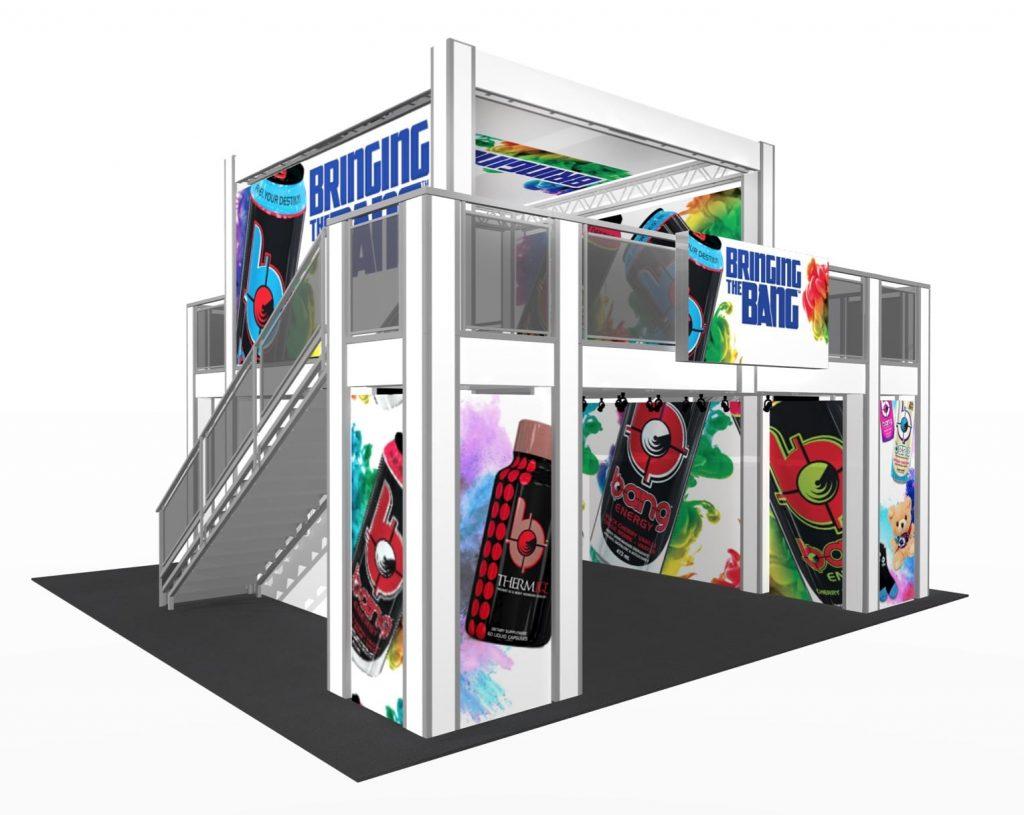 Cool New Trade Show Exhibit Design