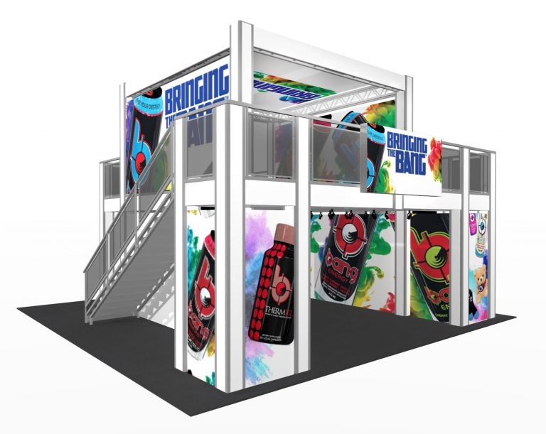 Cool New Trade Show Exhibit Design