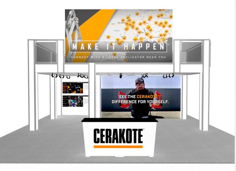 Large Double Deck Exhibit Rental for Orlando